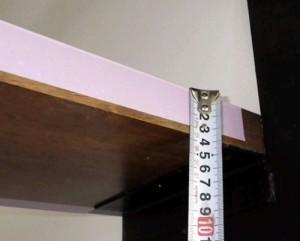 階段の厚み不足