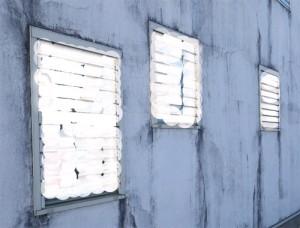 外壁施工の手抜き